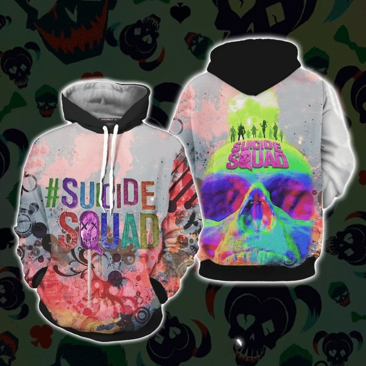Suicide squad 3d all over print hoodie 1 1