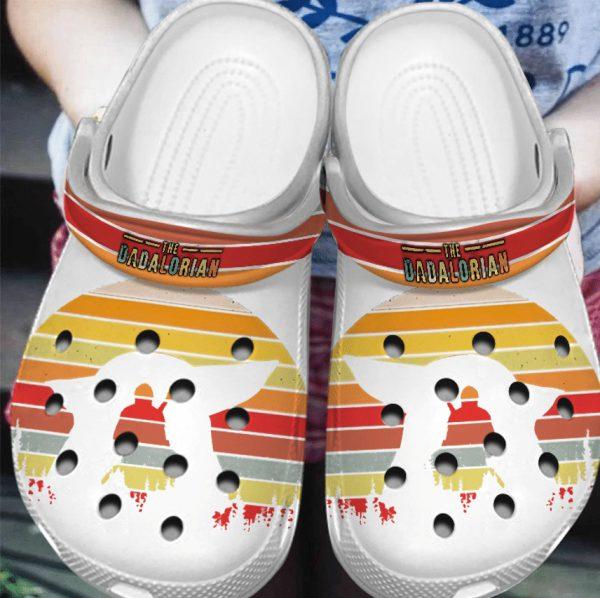 The Dadalorian Crocs Crocband Shoes