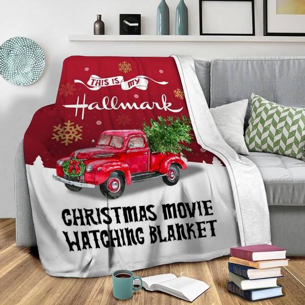 This Is My Hallmerk Chrismas Movie Watching Blanket