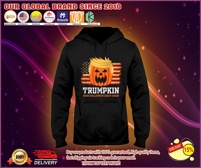 Trumpkin make halloween great again hoodies