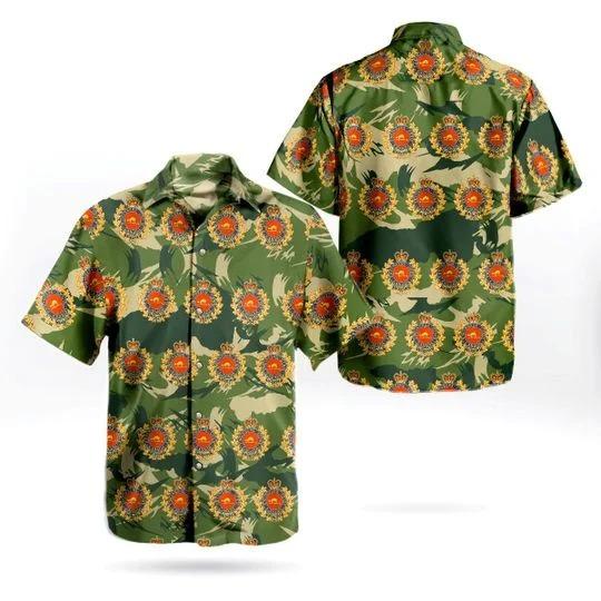 Canadian military engineers hawaiian shirt 1