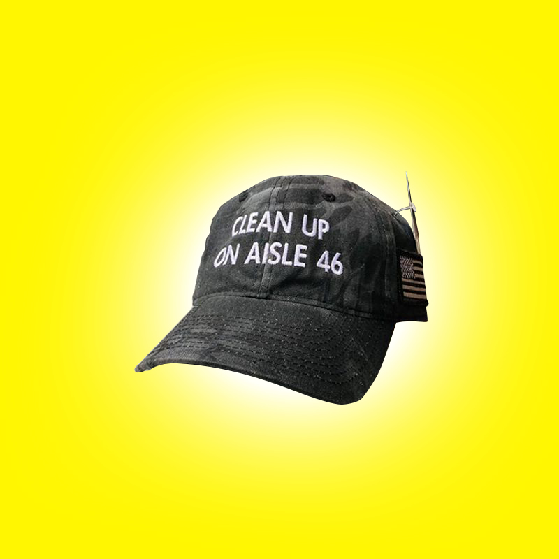 Clean Up On Aisle 46 Hat
