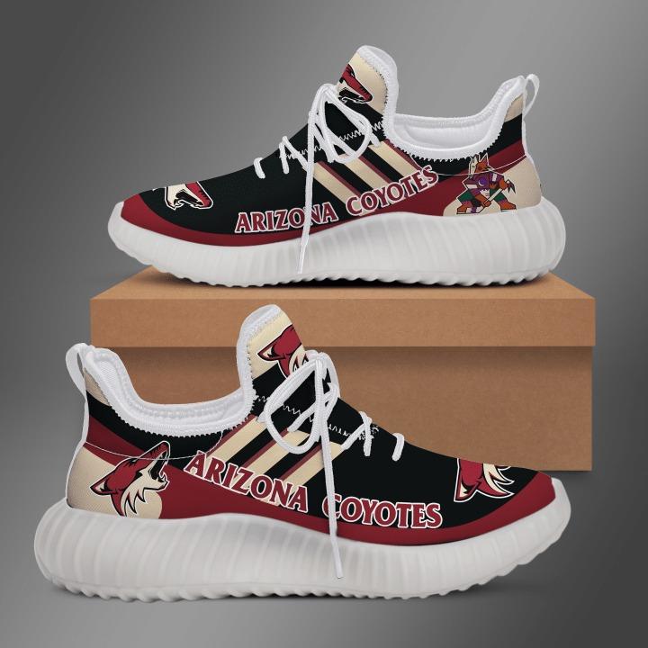 Arizona coyotes yeezy sneaker shoes 2