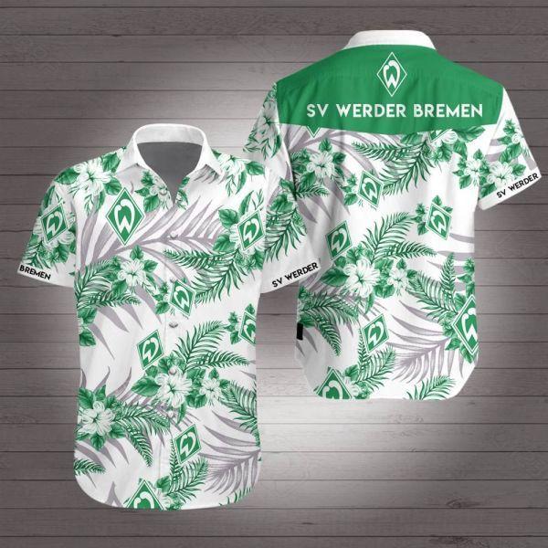 Werder bremen hawaiian shirt
