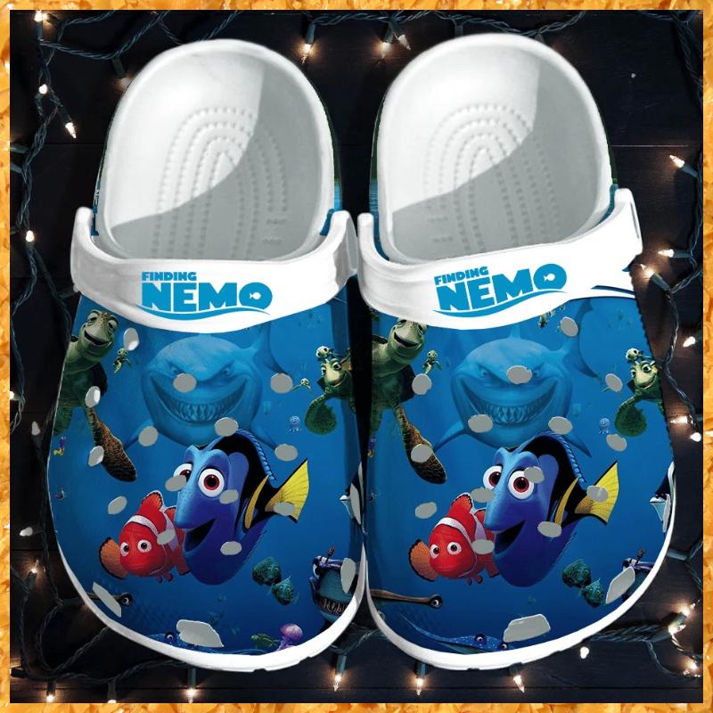 Finding Nemo crocs crocband shoes 1