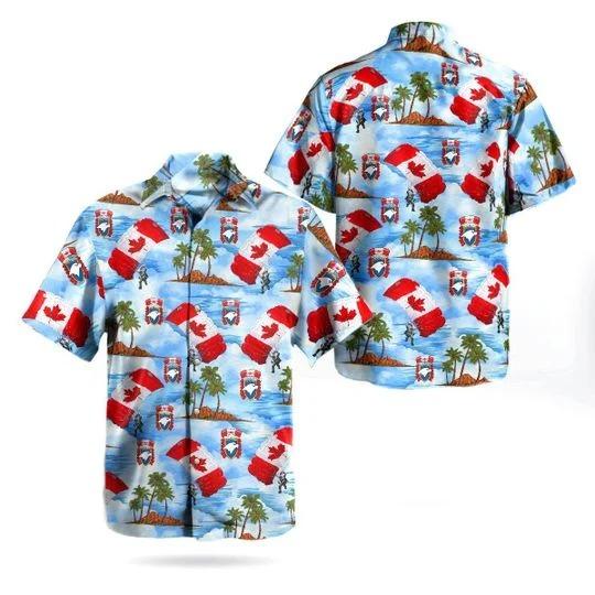 Skyhawks parachute team hawaiian shirt 1