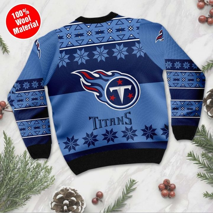 Tennessee Titans ugly Christmas sweater 2