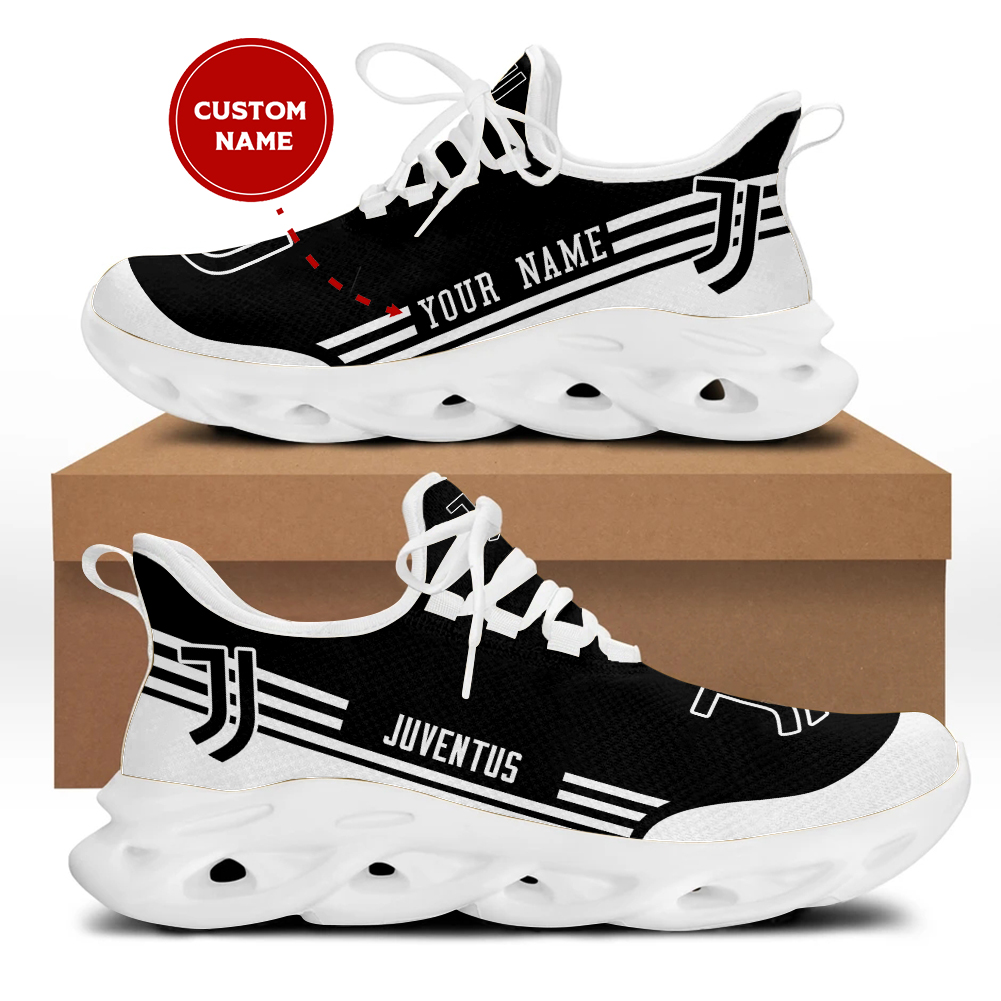 Juventus custom name clunky max soul shoes