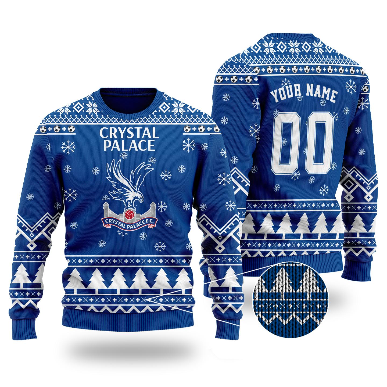 Crystal palace ugly Christmas sweater