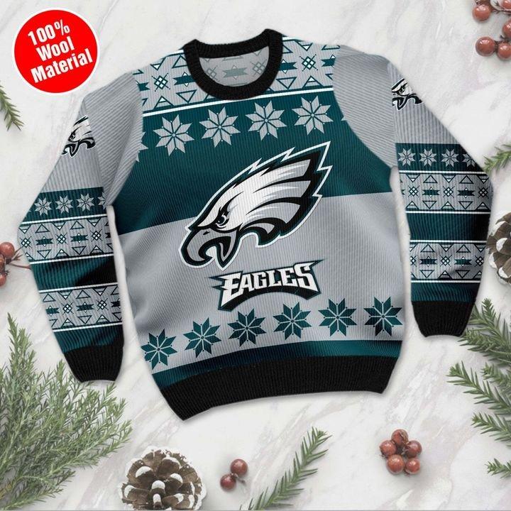Philadelphia Eagles ugly Christmas sweater 2