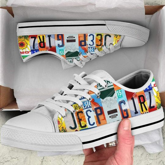 Jeep girl low top shoes