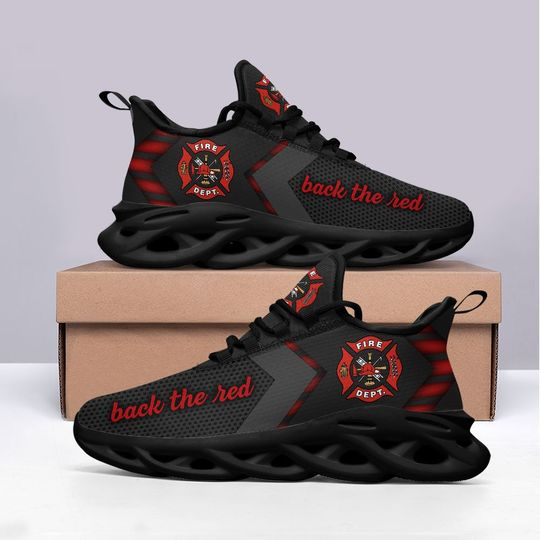 Firefighter back the red max soul clunky shoes 2