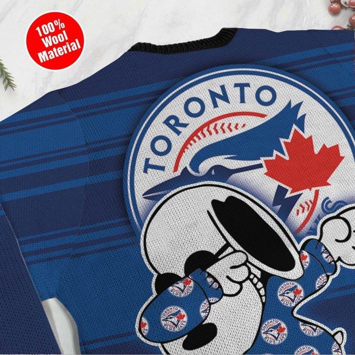 Snoopy Toronto Blue Jays Ugly Christmas Sweater 4