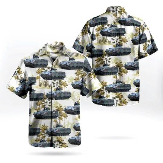 Bundeswehr marder 1 A1A3 hawaiian shirt 1
