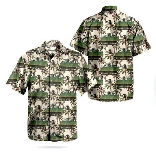 Canadian army tracked light armoured vehicle tlav hawaiian shirt 1