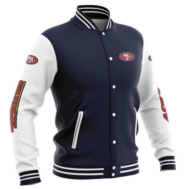 San fransisco 49ers baseball jacket 5