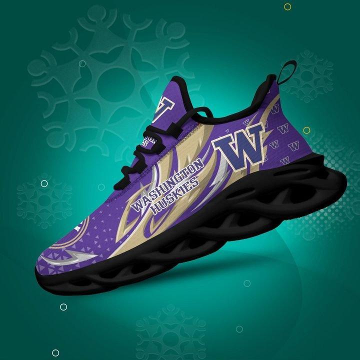 Washington Huskies clunky Max Soul High Top Shoes 4