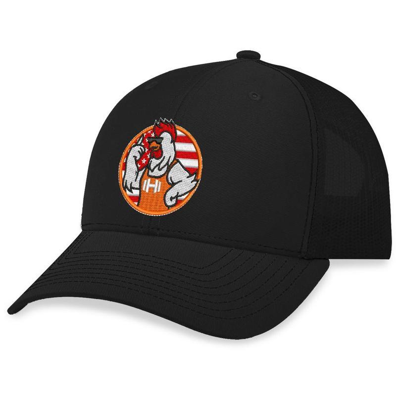 11 Hodges Chicken Logo Trucker Hat 1