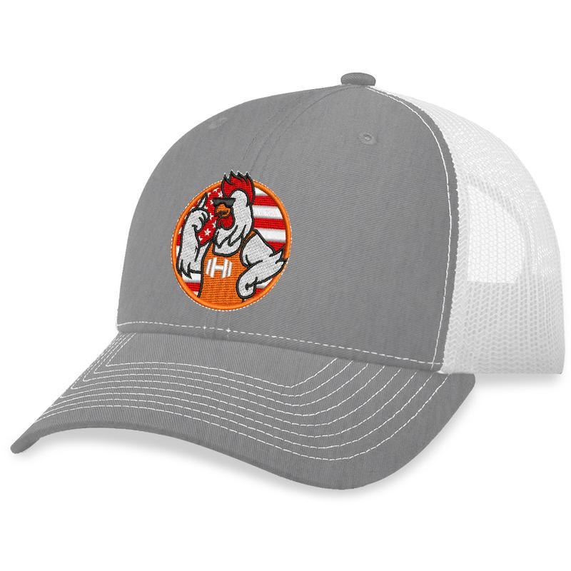 11 Hodges Chicken Logo Trucker Hat 2