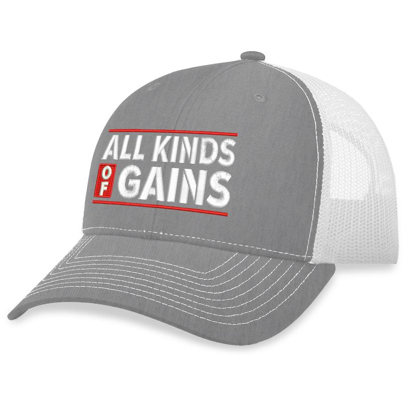 12 All Kinds Of Gains Trucker Hat 2
