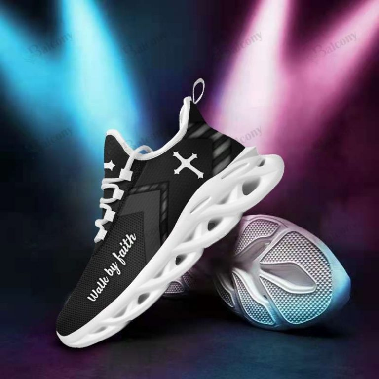 Jesus Yeezy Walk by faith clunky max soul shoes 3