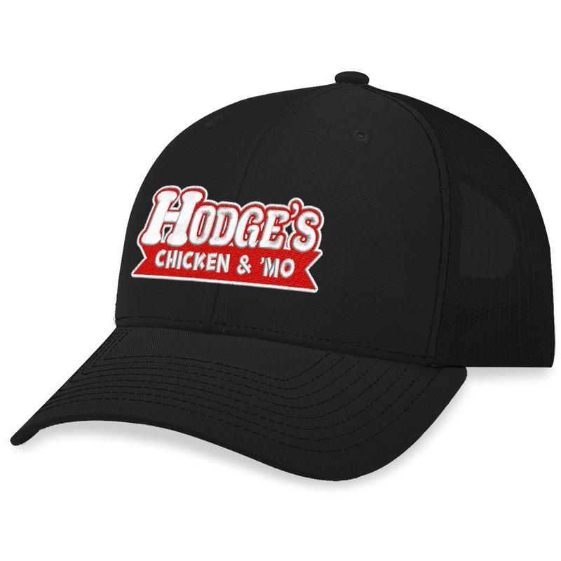13 Hodges Chicken Text Trucker Hat 1