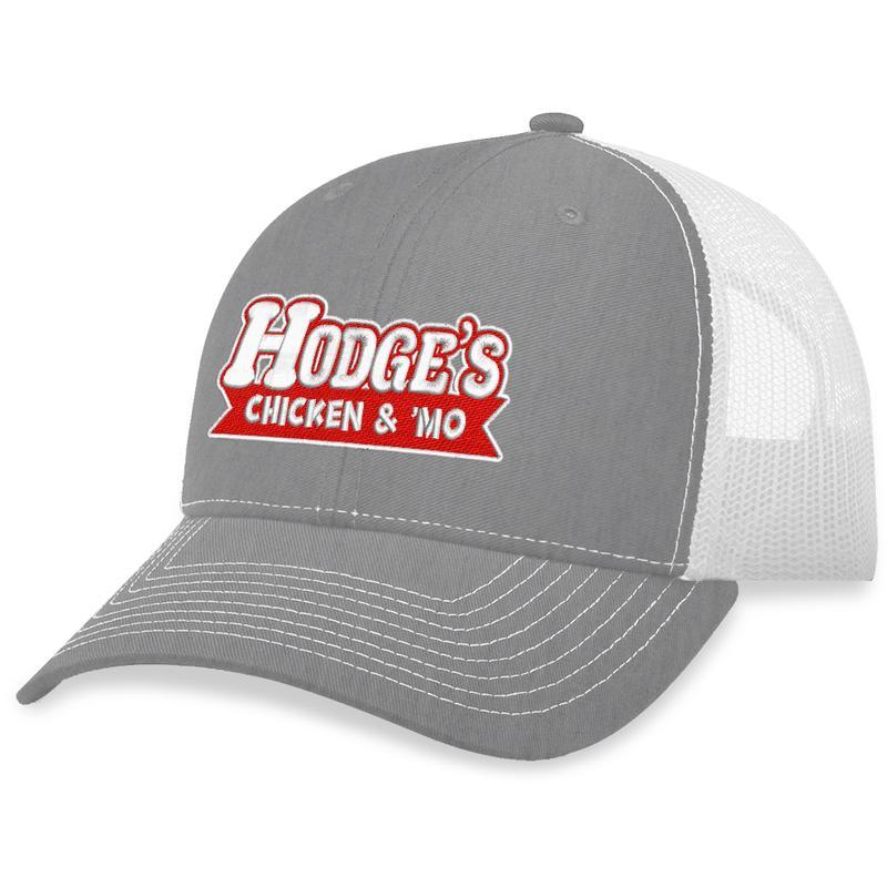 13 Hodges Chicken Text Trucker Hat 2