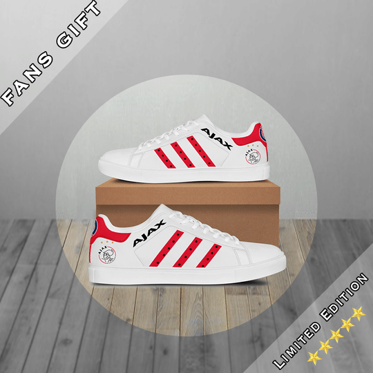 Ajax Amstedam stan smith low top shoes • Kybershop