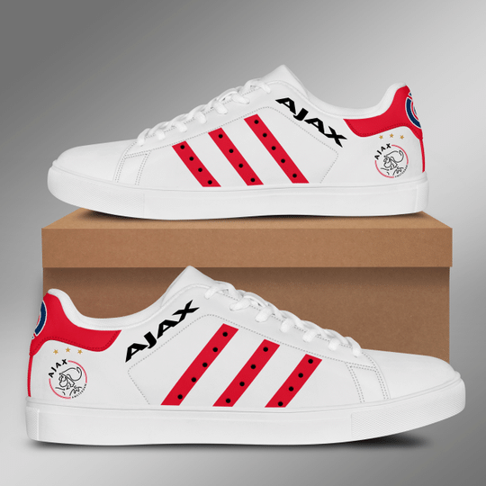 18 Ajax Amstedam stan smith low top shoes 2