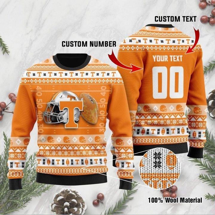 Tennessee Volunteers Custom Ugly Christmas Sweater 1