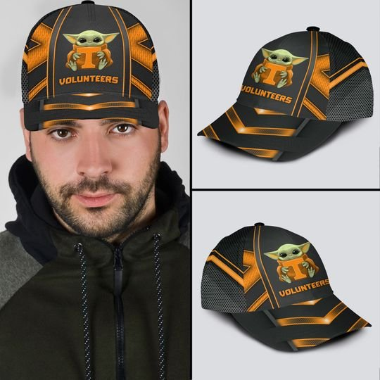 5 Tennessee Volunteers And Baby Yoda Classic Cap 1