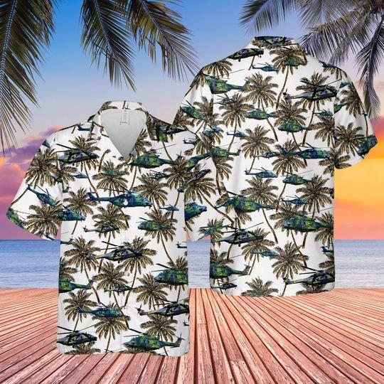 German army nhindustries nh90 hawaiian shirt