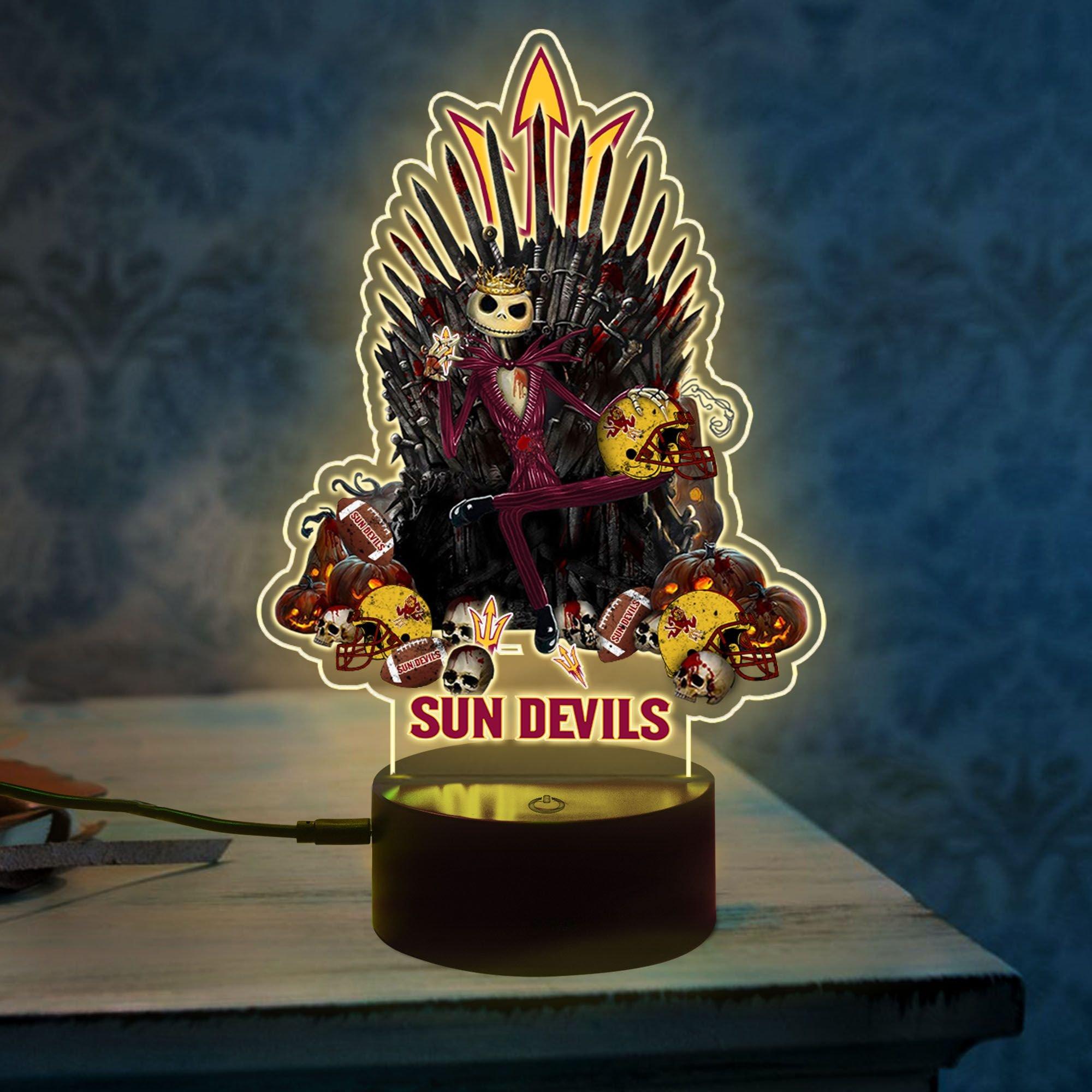 2 Arizona State Sun Devils NCAA2 Jack Skellington Led Lamp 1