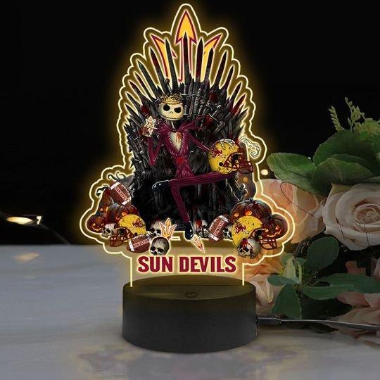 2 Arizona State Sun Devils NCAA2 Jack Skellington Led Lamp 2