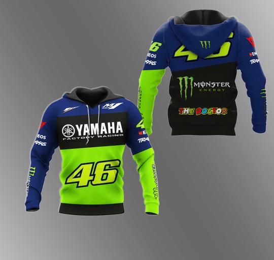 25 Yamaha Monster energy 3d hoodie 1