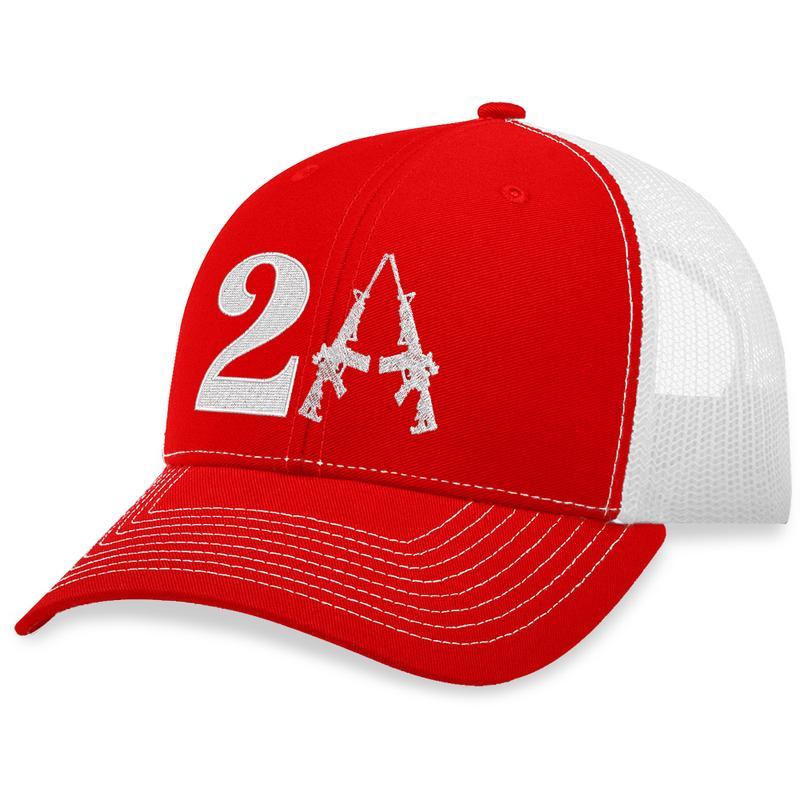 3 2nd Amendment Guns Trucker Hat 1
