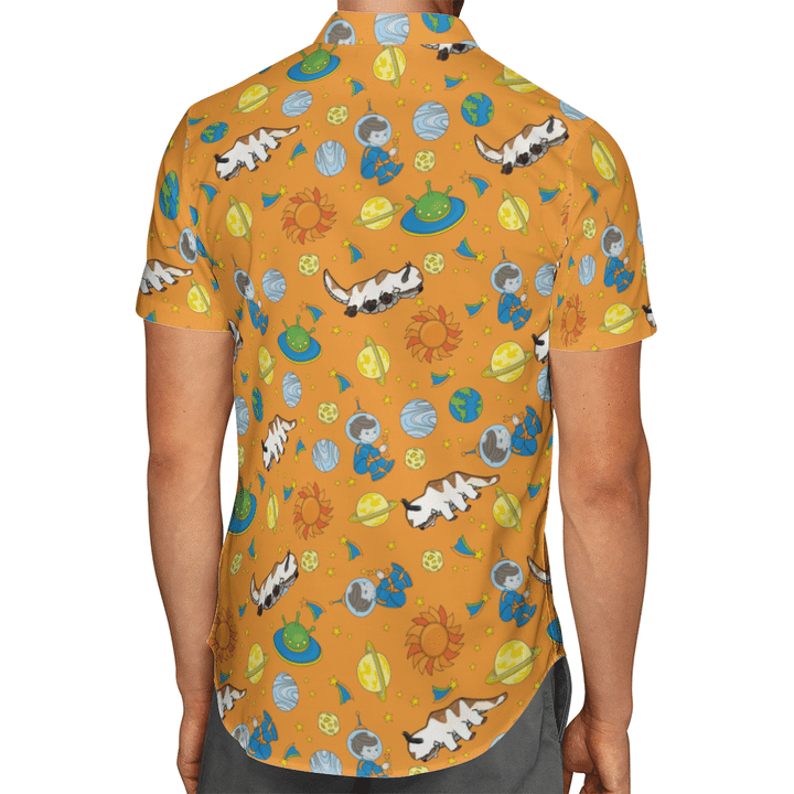 31 Avatar Appa hawaiian shirt 2