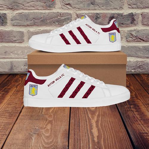 5 Aston Villa FC stan smith low top shoes 2
