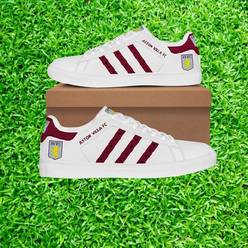 5 Aston Villa FC stan smith low top shoes 3