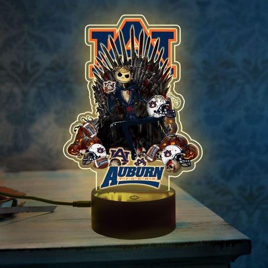 5 Auburn Tigers NCAA1 Jack Skellington Led Lamp 1