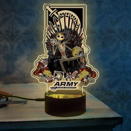 6 Army Black Knights NCAA3 Jack Skellington Led Lamp 1