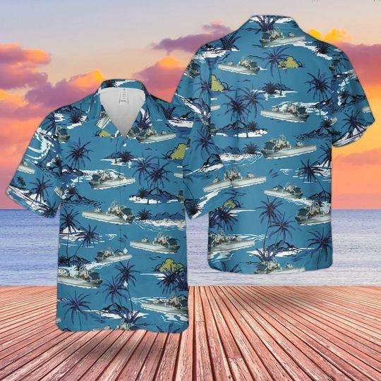 Rn Rfa Argus A135 Hawaiian Shirt