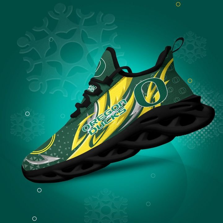 Oregon Ducks clunky Max Soul High Top Shoes 4
