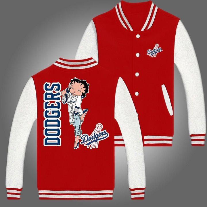 Los angeles dodgers baseball jacket 5