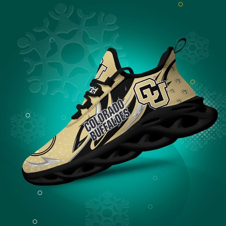 Colorado Buffaloes clunky Max Soul High Top Shoes 4
