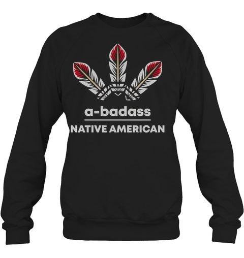 A badass Adidas Native American shirt hoodie 4