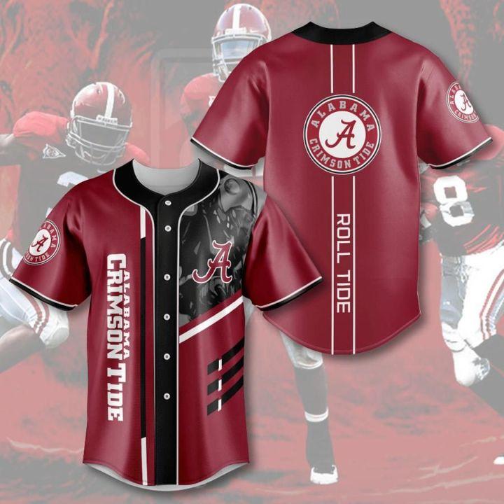 Ncaaf alabama crimson tide baseball jersey