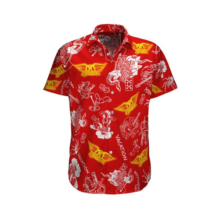 Aerosmith vacation hawaiian shirt and short 2