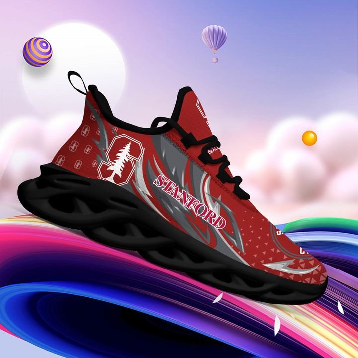 Stanford Cardinal clunky Max Soul High Top Shoes 4