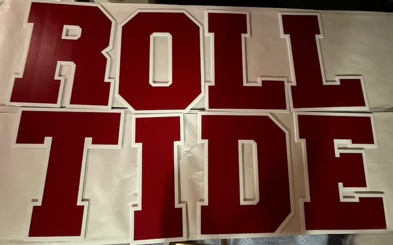 Alabama Roll Tide Yard sign1
